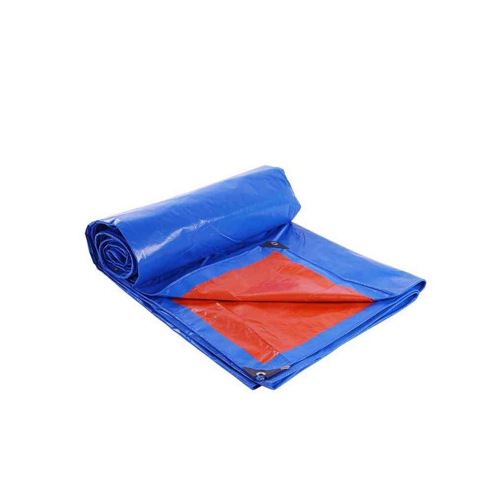Cubierta de Polvo Azul al Aire Libre de la Lona Lona a Prueba de Agua de Aislamiento de Lona de Tela plástica 2-12m (Tamaño : 6 * 8m): Amazon.es: Hogar