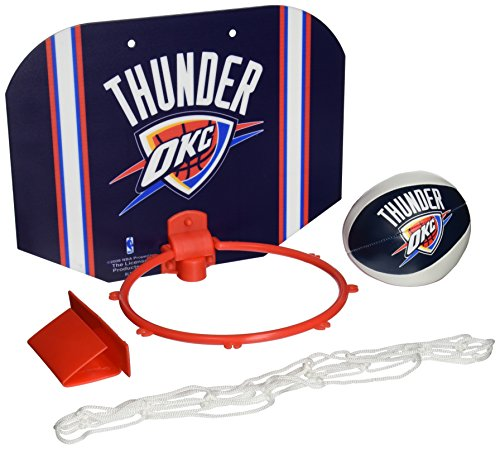 NBA Oklahoma City Thunder Slam Dunk Softee Hoop Set