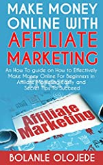 Making Money Online With Affiliate Marketing is a fully descriptive guide on one of the ways I and Thousands of People are Constantly making thousands of dollars a month online. There are a lot of guides out there but in this particular one. ...