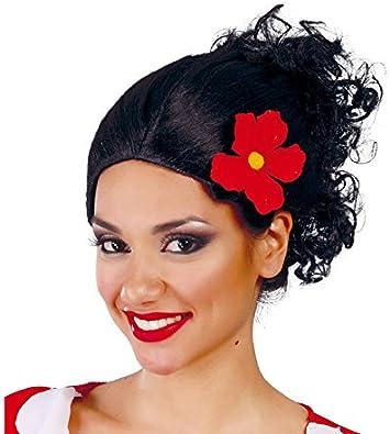 Peluca Dama Española - Peluca Olivia de Popeye: Amazon.es ...