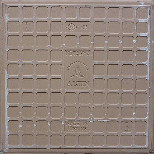 Altin Cini Turkish Iznik Carnation Floral Pattern 8 x 8 Ceramic Tile 20