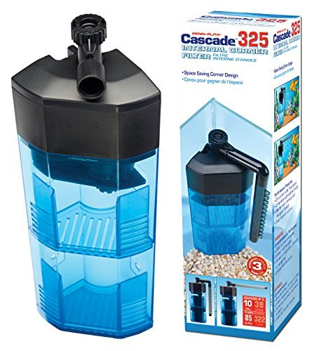 Corner Aquarium Filter - Penn Plax 325 Cascade Corner Filter