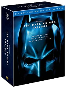 Cover Image for 'Dark Knight Trilogy, The (Batman Begins / The Dark Knight / The Dark Knight Rises)'