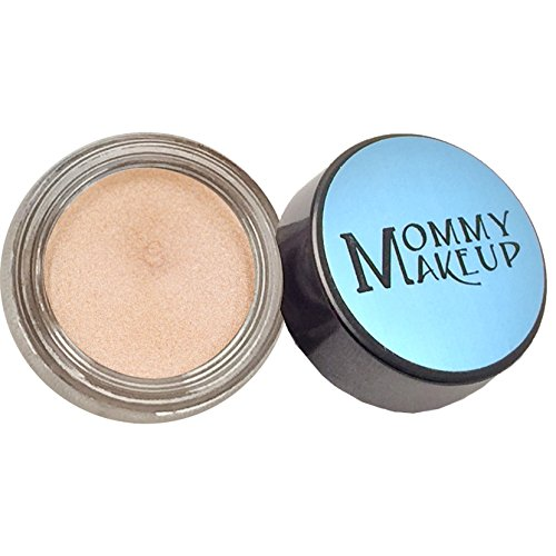(Any Wear Creme in Champagne on Ice (a Shimmering Champagne) - The ultimate multi-tasking cosmetic - Smudge-proof Eye Shadow, Cheek Color, and Lip Color all-in-one by Mommy Makeup)