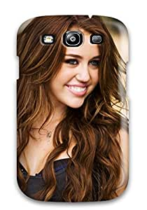 Tpu Phone Case With Fashionable Look For Galaxy S3 - Miley Cyrus Party In The Usa 4139225K47111675