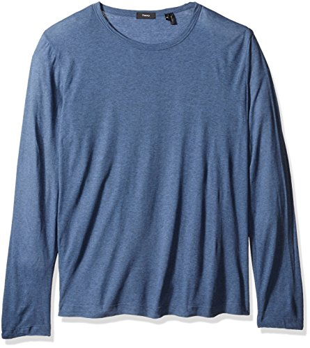 Theory Men's Gaskell Hasten Long Sleeve Tee, CY Heather, XX-Large by Theory (Image #1)