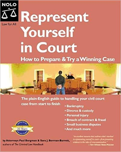 Represent yourself in court how to prepare try a winning case represent yourself in court how to prepare try a winning case 5th edition solutioingenieria