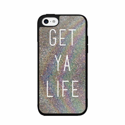 BleuReign(TM) Get Ya Life Plastic Phone Case Back Cover iPhone 5c
