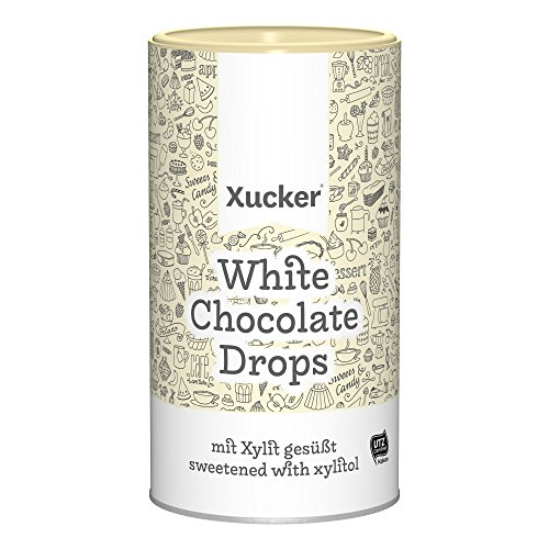 Xucker - White Chocolate Drops 750g