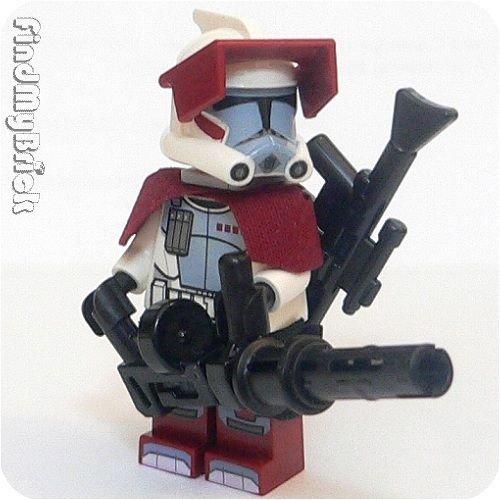 Lego Star Wars Arc Elite Clone Trooper Minifigure 2 Blasters