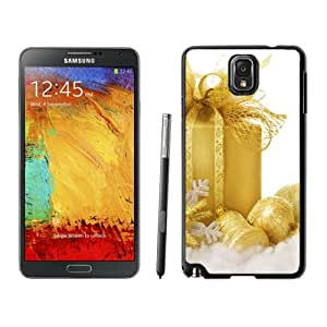 New Fashionable Designed For Samsung Galaxy Note 3 N900A N900V N900P N900T Phone Case With Gold Merry Christmas Gift Box Phone Case Cover