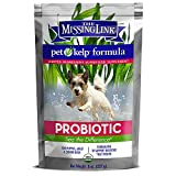 The Missing Link – Organic Pet Kelp, Probiotic Formula — Limited ingredient Superfood Supplement for Dogs rich in balanced Omegas 3, 6, and 9  and probiotics to support digestion and nutrition health —  8 oz.