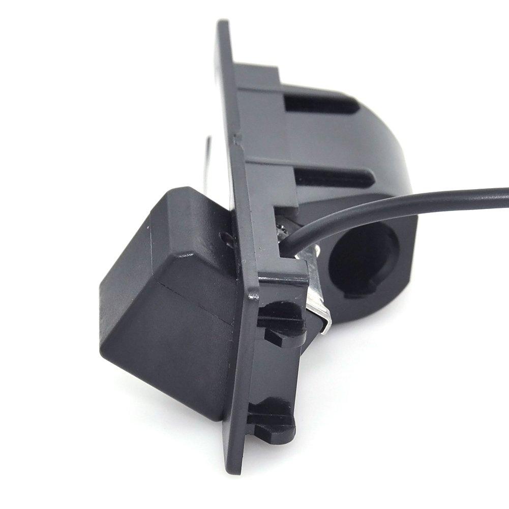 Auto Wayfeng WF/® HD CCD Cam/éra Voiture Imperm/éable Voiture Invers/ée Cam/éra de Recul Rearview avec 4LEDs pour Alfa Romeo 156 159 166 147 Brera Spider 05