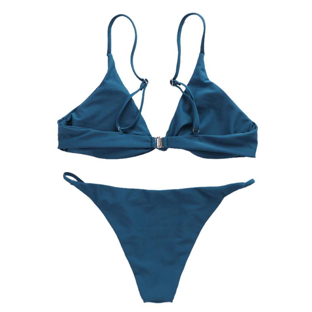 e533cef602c Amazon.com  Gooldu Two Piece Bikini Set