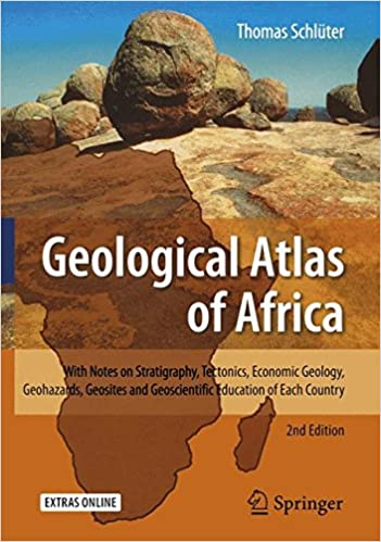 Geological Atlas Of Africa With Notes On Stratigraphy Tectonics