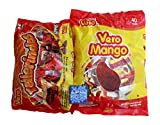 Vero Mango Lollipops Mexican Candy, Rellerindos Hard Tamarind Candy and Tex-Mex Sweetz Candy Mix Mints Combo Pack