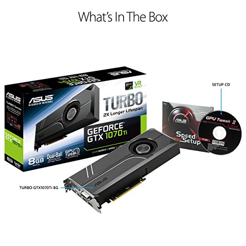 ASUS ASUS GeForce GTX 1070 TI 8GB GDDR5 Turbo Edition VR