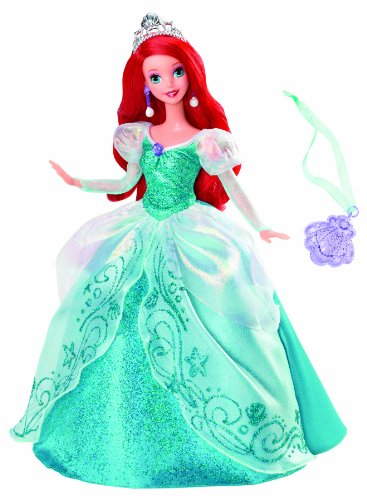 Disney Princess Holiday Princess Ariel Doll]()