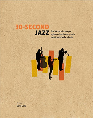 30-Second Jazz: The 50 crucial concepts, styles and performers, each explained in half a minute