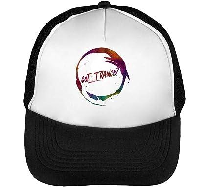 Got Trance Music Gorras Hombre Snapback Beisbol Negro Blanco One ...