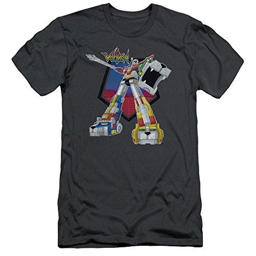 - 2Bhip Voltron:Defender of the Universe Anime TV Series Super Robot Adult Slim T-Shirt