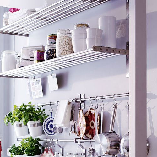 Amazoncom Ikea Grundtal Stainless Steel Kitchen Organizer Set