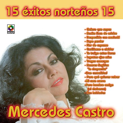 15 Exitos Mercedes Castro By Mercedes Castro On Amazon