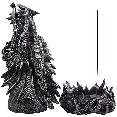 Fire Breathing Dragon Incense Holder & Burner