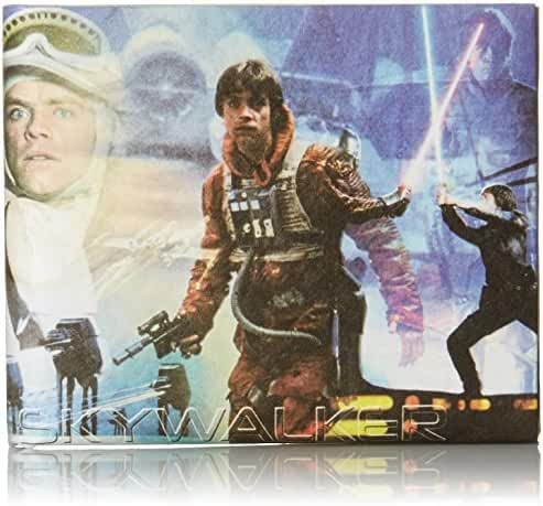 Dynomighty Men's Luke Skywalker Collage Mighty Wallet, Multi, One Size