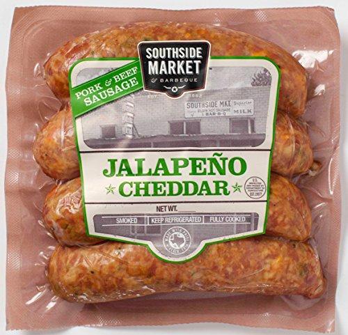 Southside Market Jalapeno Cheddar Beef & Pork Sausage - 5 Packages