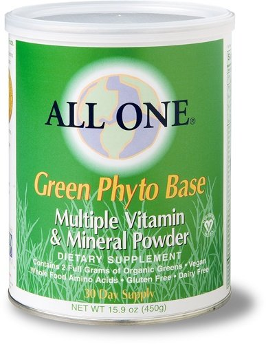 All One People - All One Multi Vit & Min Green Phyto, (All One Formula Original Powder)
