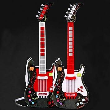 Tosbess Instrumento Musical de Juguete Guitarra Juguete Musical - Juguetes Musicales para niños Infantil Principiantes: Amazon.es: Juguetes y juegos
