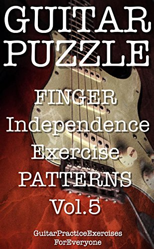 GUITAR PUZZLE finger independence exercise patterns Vol.5 ()