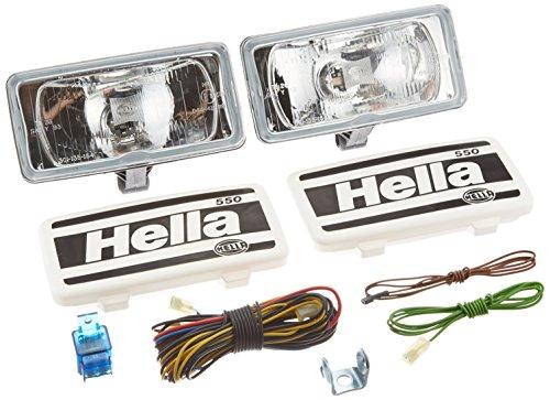 Hella Fog Light Kit: Model 550 Driving Light Kit; 4 11/16 inch height x 7 11/16 inch width x 3 1/4 inch de 005700891 (Hella 700 Driving Lights compare prices)