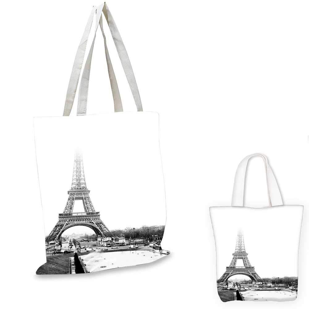 Personalized Baby Diaper Bag Tote Monogrammed Paris Eiffel Tower