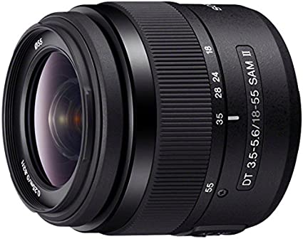 Sony Sal 1855 2 3 A Mount Lens Dt 18 55 Mm F3 5 To Camera Photo
