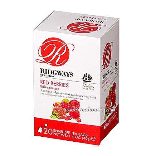 Ridgways of London Red Berries 2g x 20 Bags