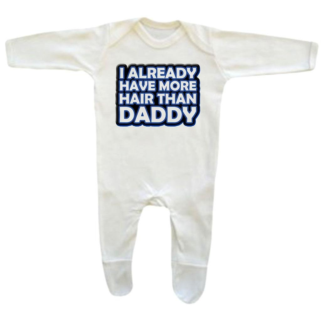 Bang Tidy Clothing Baby Boys More Hair Than Daddy Rompersuit