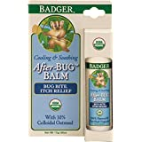 Health Life Badger Balm After-bug Itch Relief Stick .60 Oz Hang Tag Box, 0.6 Ounce