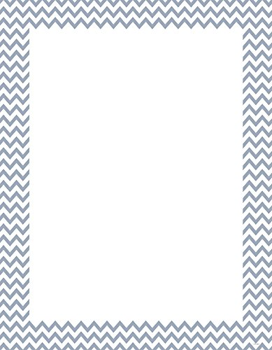Creative Teaching Press Slate Gray Chevron Poster Chart (0969)