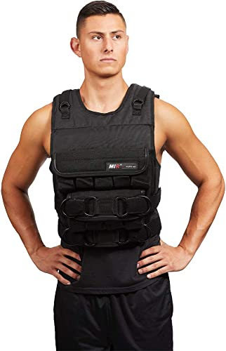 MIR – 140LBS PRO LONG STYLE ADJUSTABLE WEIGHTED VEST