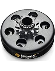 Bravex Centrifugal Clutch Go Kart 12 Tooth For #35 Chain, 10 Tooth For #40/41/420 Chain