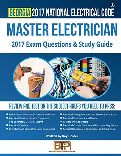 Georgia 2017 Master Electrician Study Guide