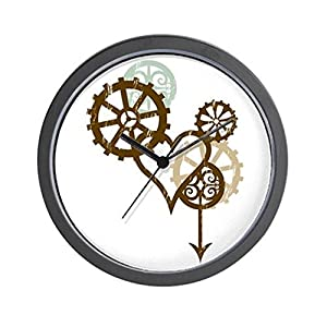 CafePress Steampunk Love Wall Clock Unique Decorative 10″ Wall Clock