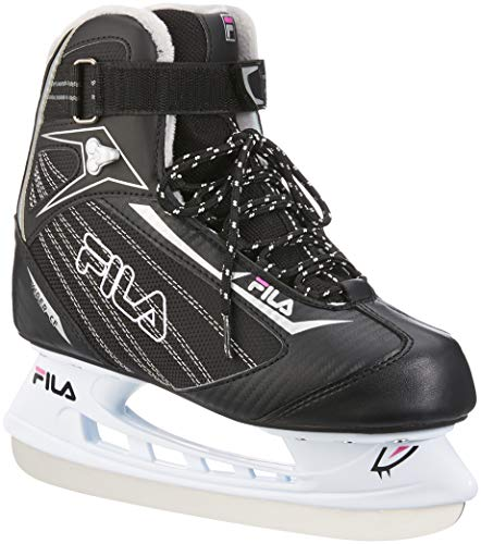 Viper Ice Black - Fila Viper CF Women's Lady Ice Skates, Womens, 010418000, Black/Magenta, 5