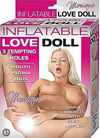 Amazon.com: Muñeca Hinchable Love Monique Flesh --- (paquete ...