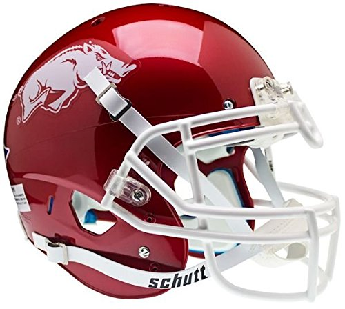 NCAA Arkansas Razorbacks Authentic XP Football Helmet by Schutt