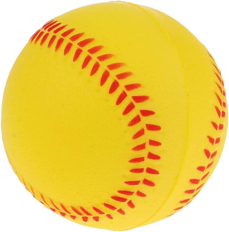 Colcolo en Bois 54 Cm Batte de Baseball 9 Cm 2 Pcs PU Mousse Boule Formation