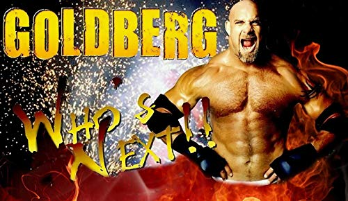 United Mart Poster WWE Goldberg Print Album Cover Poster Size 12 x 18 Inch Rolled Poster