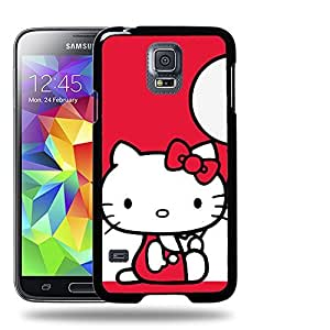 Case88 Designs Hello Kitty Collection 0630 Protective Snap-on Hard Back Case Cover for Samsung Galaxy S5